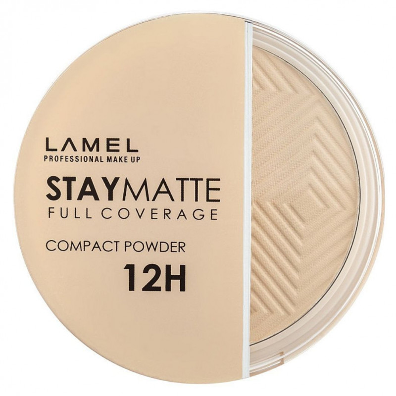 Пудра для лица Stay Matte Compact Powder, тон 401 фарфор